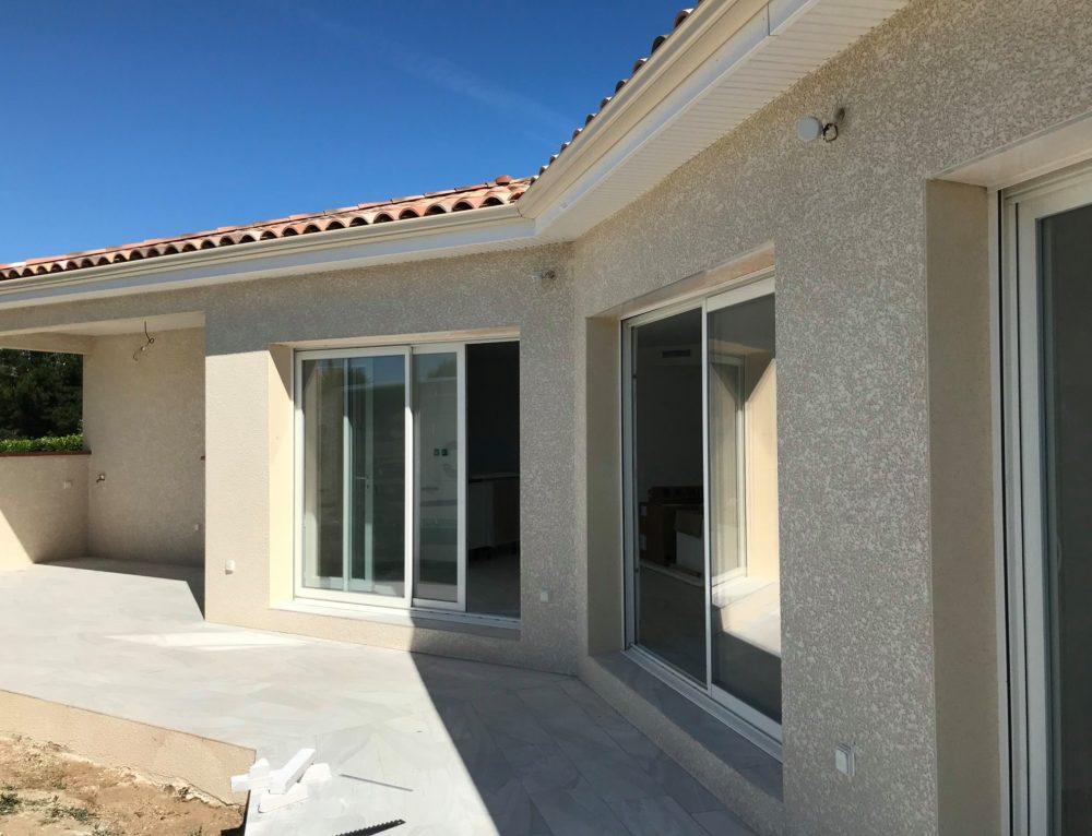 Construction d'une maison à Lamagdelaine