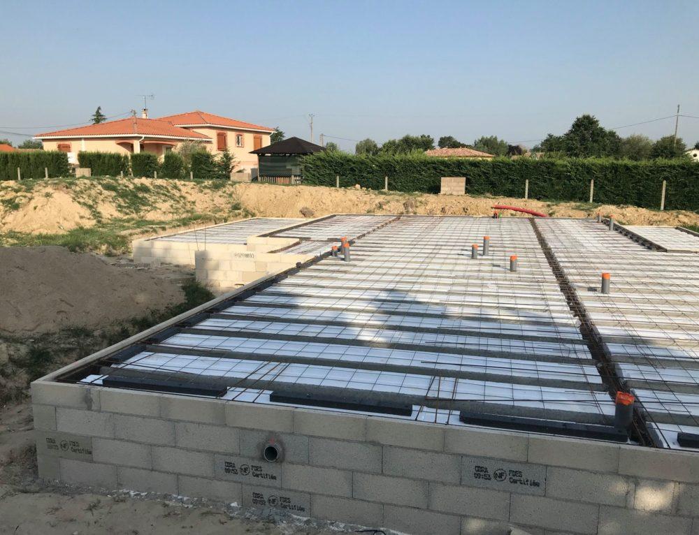 Construction d'une maison proche de Montauban
